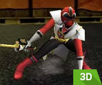 3D Power Rangers Ninja