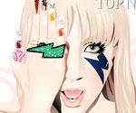 Lady Gaga Makyaj 2