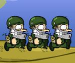 Koşan Askerler
