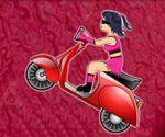 Genç Motorcu Kız