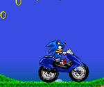 Süper Sonıc Motorcu