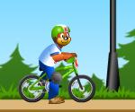 Bisikletci Sevimli Ayıcık