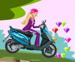 Motorcu Barbie