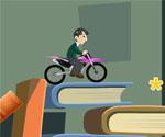 Kütüphanede Motor Keyfi