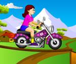 Sara Motorsiklet Sürme