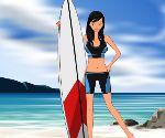 Sörfçü Kızı Giydir