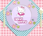Hello Kitty Tabağı