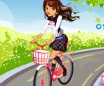 Bisikletli Kız Giydir