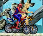 Spiderman ve Sandman Yarışıyor