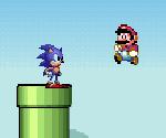Sonic Mario Dünyasında
