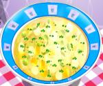 Kremalı Tavuk Çorbası