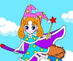 Sevimli Cadı Boyama