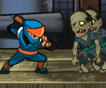 Ninja vs Zombi