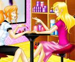 Barbie Manikür Salonunda