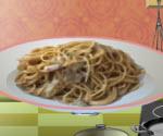 Soslu Spagetti