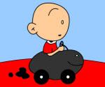 Bebek Arabası Boyama
