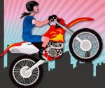 Kız Motorcu