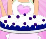 Mavi Kadifeli Pasta