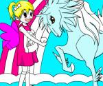 Sarah ve Kanatlı Atı