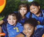 Futbolcu Kız Top Sektirme