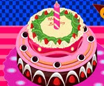Meyveli Doğum Günü Pastası