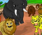 Hayvanat Bahçesi Boyama