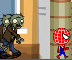 Örümcek Adam Zombilerden Kaçış