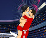 Futbolcu Öpüşmesi