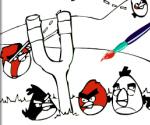 Angry Birds Boyama