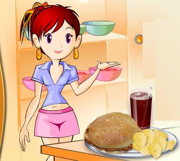 Aşçı Sara İle Tavuklu Sandviç Pişirme