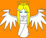 Melek Kız Boyama