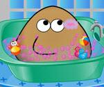 Pou Banyo Yapıyor