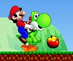 Mario Yaz Meyveleri Toplama