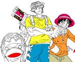 One Piece Boyama