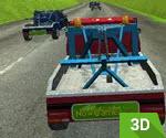 3D Çekici Kamyonet Yarışı