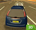 3D Hayalet İle Araba Yarışı
