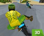 3D Mini Motor Yarışı