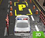 3D Polis Arabası Park Etme