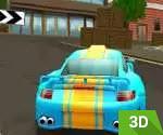 3D Şehir Yarışı