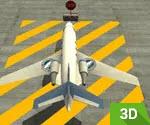 3D Uçak Park Etme