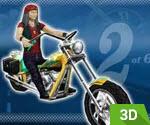 3D Vitesli Motor Yarışı
