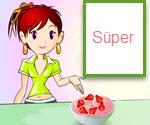 Aşçı Sara İle Çilekli Dondurma