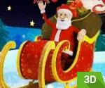 Noel Baba 3D Yarış