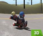 3D Kızak Kayağı Yarışı Oyunu