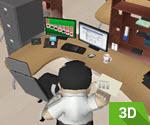 3D Ofis Parçalama