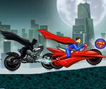 Süpermen ve Batman Motor Yarışı
