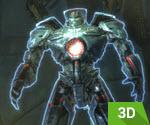 3D Koruyucu Dev Robot