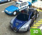 3D Polis Arabası Park Etme 2