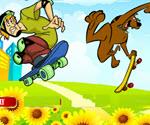 Scooby Doo ve Shaggy Zıplama