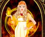 Ateş Prensesi Giydirme